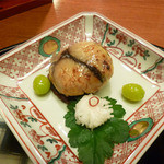 15777596 - 焼物(鰆豆腐けんちん焼 松茸味噌)