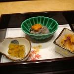 日本料理 とくを - 先付け