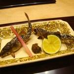 日本料理 とくを - 鮎塩焼き