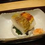 日本料理 とくを - 鮨(鯖、穴子)