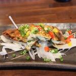 名古屋 名駅 肉寿司 - 韓国野菜チヂミ