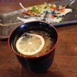 名古屋 名駅 肉寿司 - 檸檬冷麺
