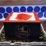 名古屋 名駅 肉寿司 - 杏仁豆腐