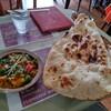 インド・パキスタン料理 ホット・スプーン - 料理写真:ランチ(チキン・キーマ・ベジタブル)・ナンorライス