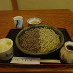 手打ち蕎麦や さ和味 - 2012/11初旬(再訪1)新そば、蕎麦の合盛、
