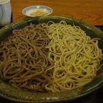 手打ち蕎麦や さ和味 - 2012/11初旬(再訪1)新そば、蕎麦の合盛