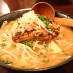 そらまめらぁめん本舗 - 大肉麺(2012/11)