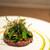 ラチュレ - 料理写真:2021.9 小笠原諸島父島産ウミガメのタルタル