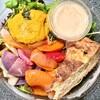 馬場FLAT - 料理写真:有機野菜のサラダボウル