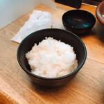 平田牧場 - ご飯