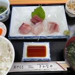地魚食事処 さかなや - 料理写真:上刺身定食1300円。