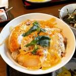 三亀 - カツ丼