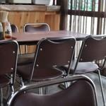 松園 - テーブル席