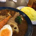 札幌スープカレーJACK - ・柔らかチキンカレー
