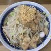 ラーメン二郎 - 料理写真:ラーメン(うずら入り)にんにく、あぶら、トッピング