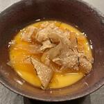 U.KAI - ホタテとフカヒレの茶碗蒸し イタリア産サマートリュフ