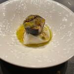 U.KAI - ブラッティーネ~生クリーム入りモッツァレラチーズ 黒無花果 パッションフルーツ バルサミコ25年とオリーブオイル