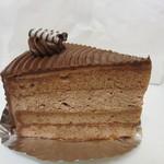 パティスリー モンテーニュ - チョコレートケーキ