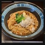 九十九里煮干つけ麺 志奈田 - にぼたん 880円