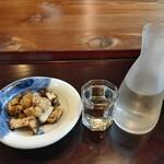 157816398 - 地酒ときのこおろし(日本酒頼まないと注文できない)