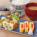 チキン南蛮・明太出汁巻き玉子&ローストビーフサラダ