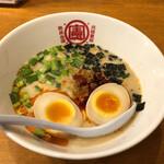 Taiwankensan - 台湾坦々麺715円&煮卵110円
