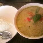 アリドイ タイレストラン - タイ人一歩手前のベリーホットなグリーンカレー