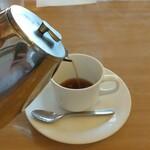 ロージナ茶房 - フレンチプレスで2杯分
