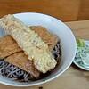 立ち食いそば はせ川 - 料理写真:冷やしきつねそば+ちくわ天(560円)