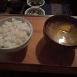 櫻守 - ご飯とみそ汁