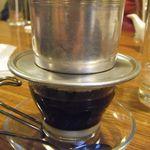 アオザイ - ヴェトナムコーヒー(\550)