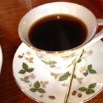 15784931 - ウェッジウッドでいただくコーヒー