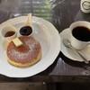 離山房 - 料理写真:ホットケーキ&コーヒーを注文