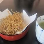 こんや - 料理写真:揚げ蕎麦菓子