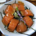 十和田食堂 - ヒメマスの漬け丼