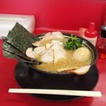 157863911 - 塩チャーシューメンの味玉子トッピング(950円+80円)