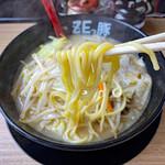 157864999 - モチモチ食感の麺