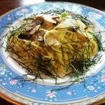 ベイ・リーフ - 料理写真:サザエのわさび風味パスタ