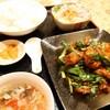 志峰飯店 - 料理写真:レバーとニラ炒め定食①