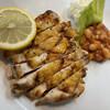 ステーキハウス スエ - 料理写真:チキン 塩焼き(チキンコース)