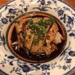 三鶴 - 料理写真:名物四川よだれ鶏