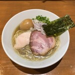 亀戸煮干中華蕎麦つきひ - 料理写真:味玉中華蕎麦
