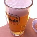 浅草恵比寿餃子 - 生ビール450円