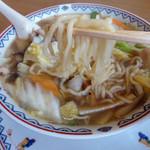 中国料理 輝楽飯店 - タンメン