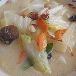 中国料理 輝楽飯店 - 海鮮刀削麺(塩)