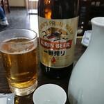 157891526 - とりあえずビールと菊正宗