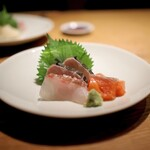 157899619 - 真鯛、鰆、銀鮭