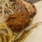 高田 煮干しと焼き味噌 豆亭 - 辛味噌