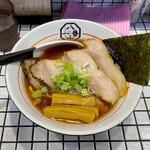 81番 - 限定「鶏と魚介のチャーシュー麺」¥1,000