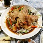 黄龍 - 豚バラスタミナ焼肉